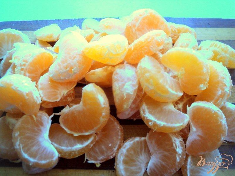Фото приготовление рецепта: Мандариновый джем с имбирем шаг №1