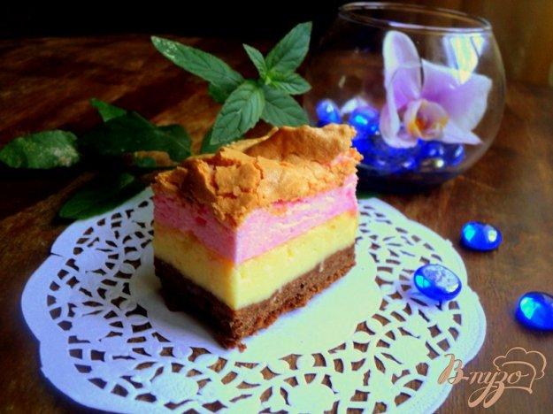 Рецепт Трехцветный сырник
