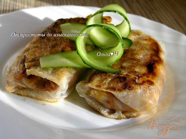 Рецепт Спринг-роллы с овощами и пшеничными хлопьями