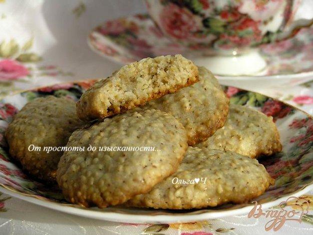Рецепт Кунжутное печенье