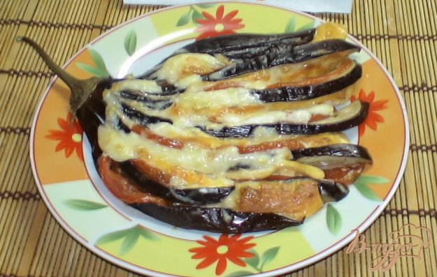 Рецепт Веер из баклажан