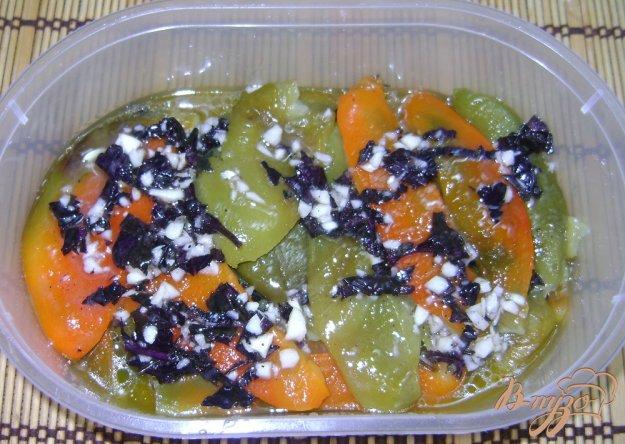 Рецепт Запеченный болгарский перец