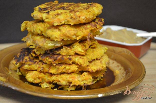 Рецепт Блины из сладкого картофеля с кремом со вкусом корицы