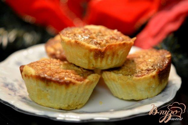 Рецепт Ягодный ореховый тарт