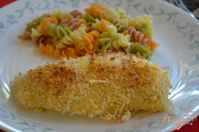 Фото приготовление рецепта: Запеченные кокосовые куриные грудки шаг №5
