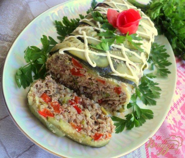 Рецепт Террин с кабачками
