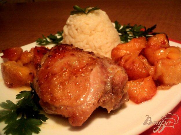 Рецепт Курица с айвой