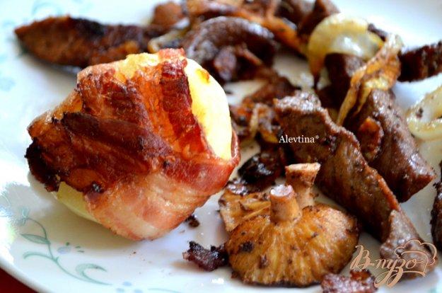 фото рецепта: Беконовый ужин