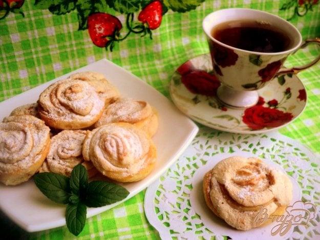 Рецепт Печенье творожное «Розочки»