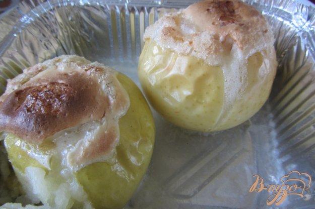Рецепт Запечные яблочки с безе