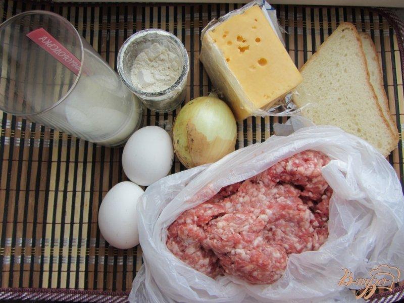 Фото приготовление рецепта: Говяжие котлеты по-украински с сыром шаг №1