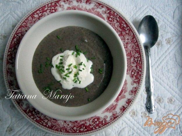 Фото приготовление рецепта: Грибной суп-пюре шаг №3