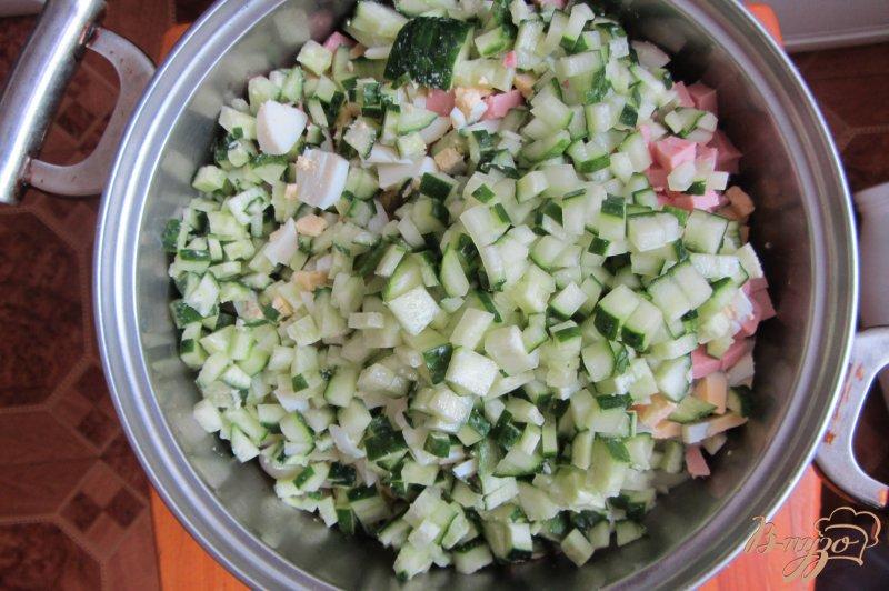 Фото приготовление рецепта: Королевское оливье шаг №8