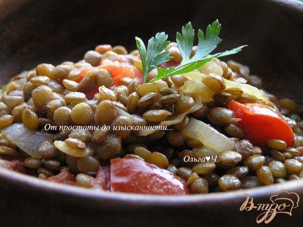 Рецепт Чечевица с помидорами