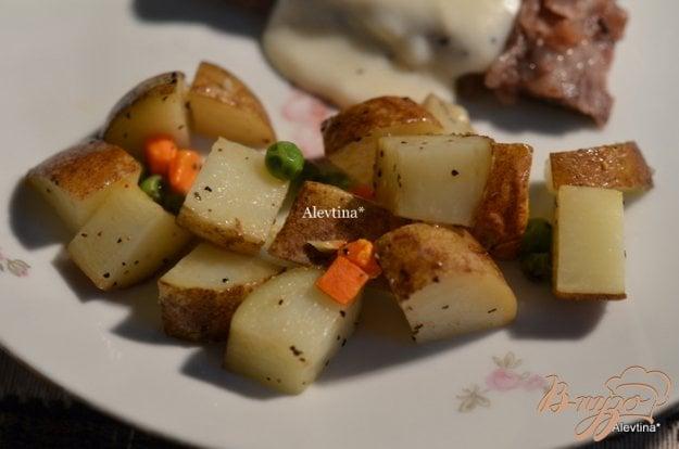 фото рецепта: Картофельный гарнир в фольге
