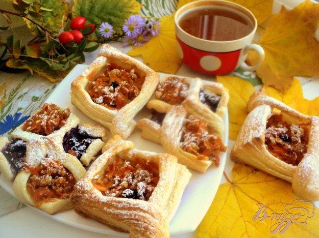фото рецепта: Слоеные пирожки с тыквой