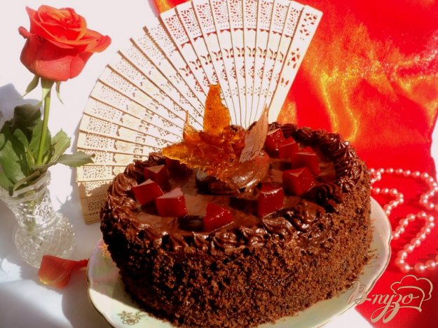 Рецепт Испанский шоколадный торт (Tarta de Chokolata)