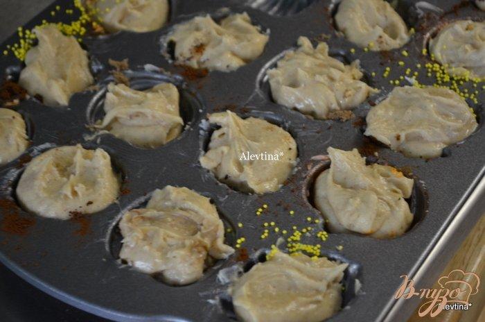 Фото приготовление рецепта: Пряное печенье в формочках шаг №4