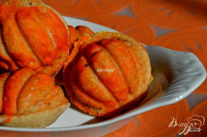 Фото приготовление рецепта: Пряное печенье в формочках шаг №5