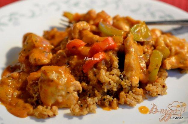 Рецепт Куриные грудки в тикка масала соусе