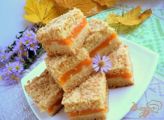 Рецепт Насыпной пирог с тыквой