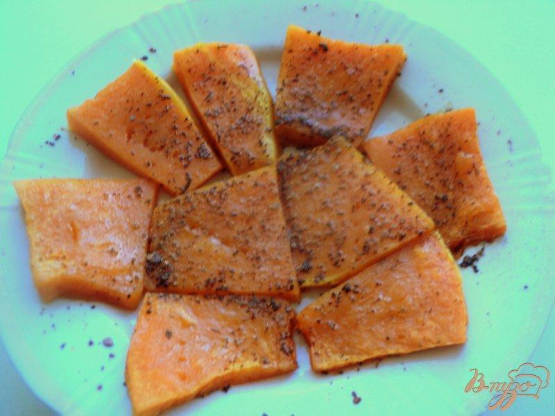 Фото приготовление рецепта: Конвертики из лаваша с творогом и тыквой шаг №2