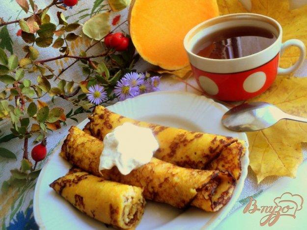 Рецепт Тыквенно-яблочные блины