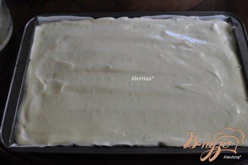 Клубничный торт-рулет