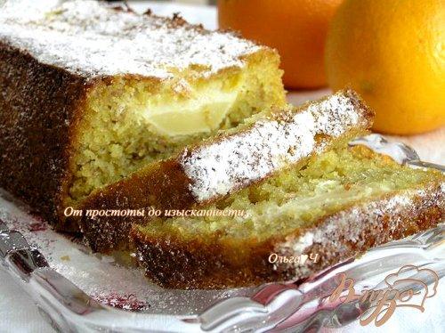 Апельсиновые кексы с яблоками