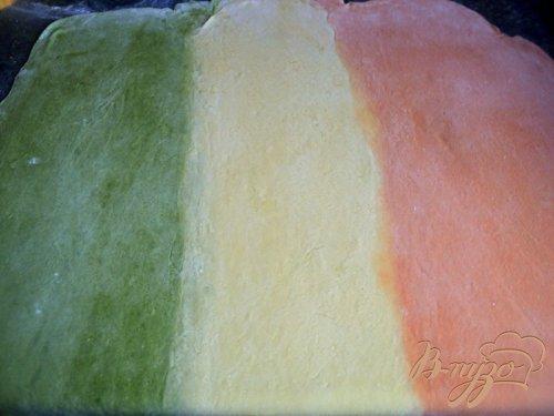 Цветная паста «Триколор»