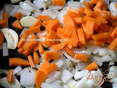 Говядина с грибами и морковью в соусе из красного вина