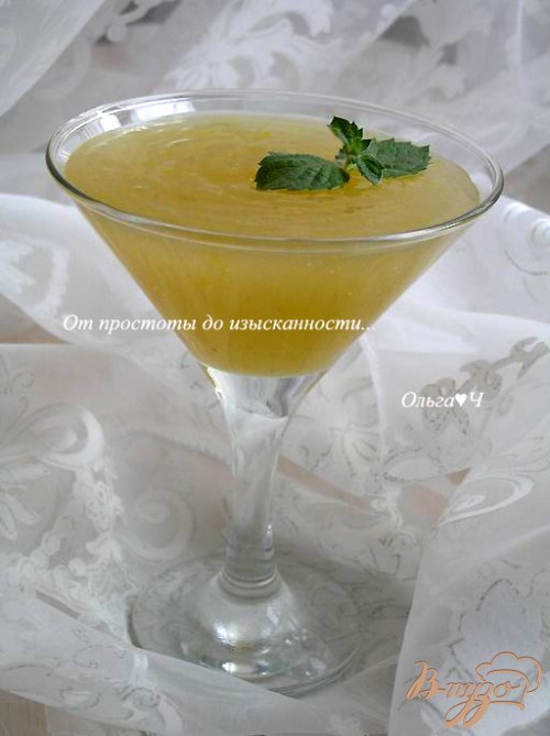 Дынно-лимонный курд