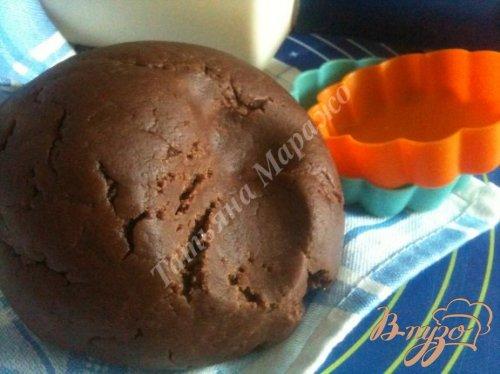 Рубленое шоколадное тесто