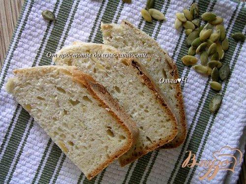 Хлеб с овсяными хлопьями и тыквенными семечками