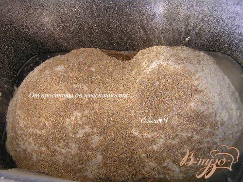 Хлеб с творогом и кедровыми орешками
