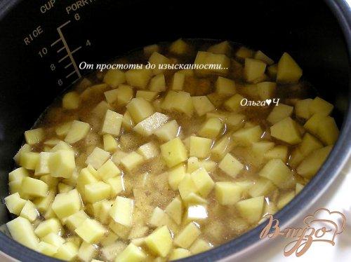 Жаркое с овощами в мультиварке