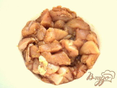 Куриные колбаски с яблоками