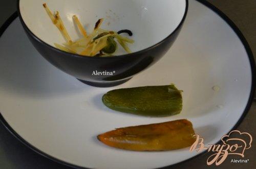 Стейк с соусом халапеньо Чимичурри