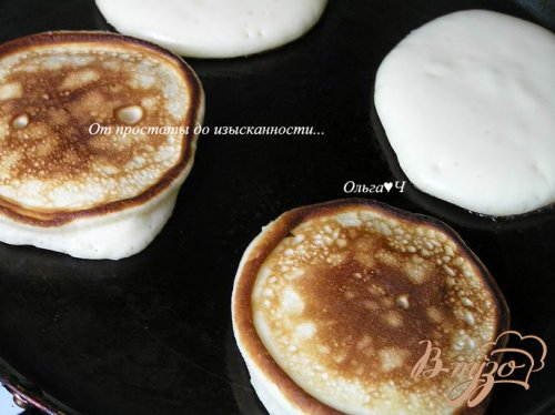 Оладьи на домашнем йогурте