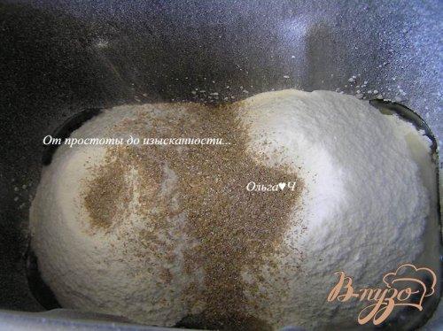 Хлеб с сыром фета