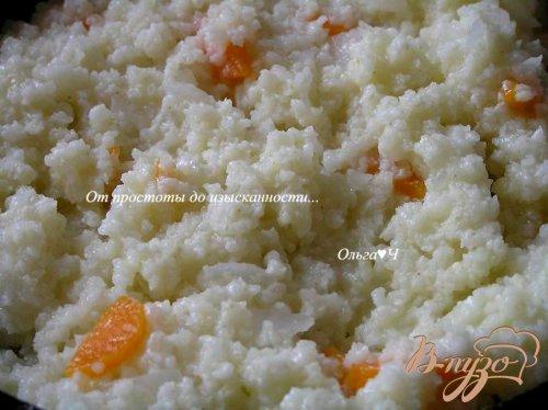 Пшеничка с луком и морковью