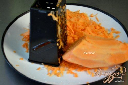 Блины из сладкого картофеля с кремом со вкусом корицы