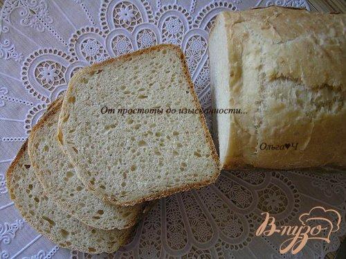 Хлеб с пшеничными хлопьями и овсяными отрубями