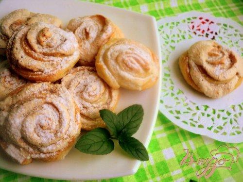 Печенье творожное «Розочки»