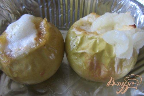 Сочные яблочки с духовки