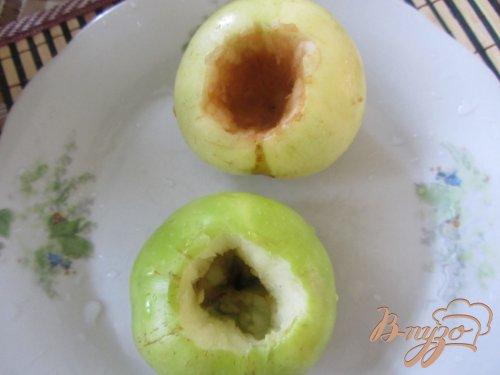 Запечные яблочки с безе