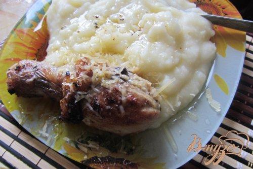 Куриные ножки с прованскими травами под сырной шубкой