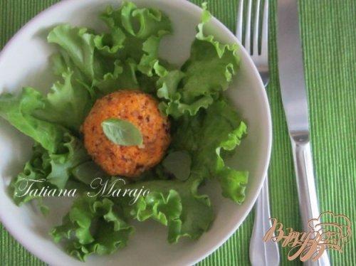 """Салат """"Морковные шарики"""""""