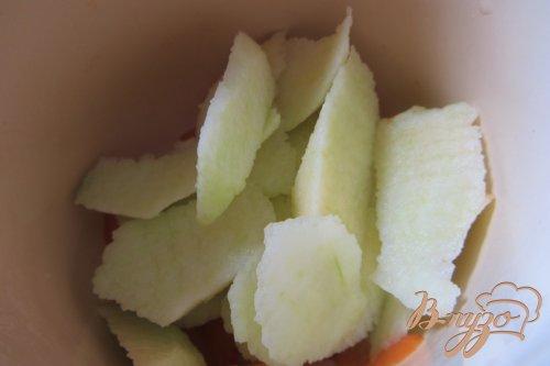 Детское абрикосово-яблочное пюре