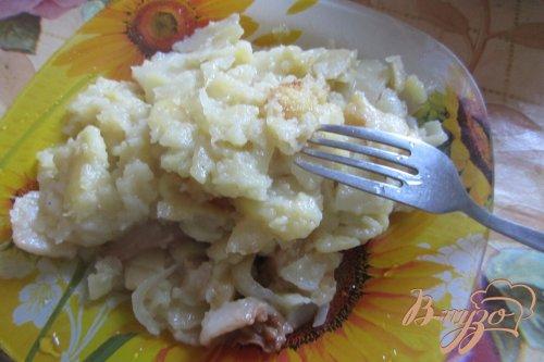 Картофель жареный по-украински с салом